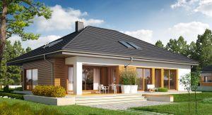 Gotowy projekt Marcel G2 będzie świetnym wyborem dla rodziny poszukującej wygodnego domu o pow. 120 m2, który w przyszłości będzie można bez problemu powiększyć, np. o osobne pokoje dla dzieci.
