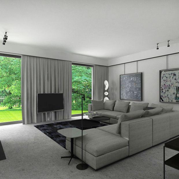 Modernistyczny dom w Piasecznie - zobacz komfortowe wnętrza
