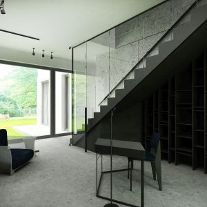 Dom w Piasecznie - strefa dzienna. Projekt i zdjęcia: Wyrzykowski Studio