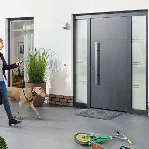 Drzwi ThermoSafe przeznaczone są do domów energooszczędnych. Fot. Hörmann