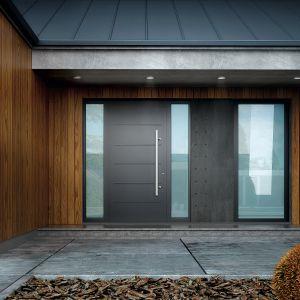 Aluminiowe drzwi Creo łączą w sobie dobry styl i świetne parametry techniczne.  Fot. Wiśniowski