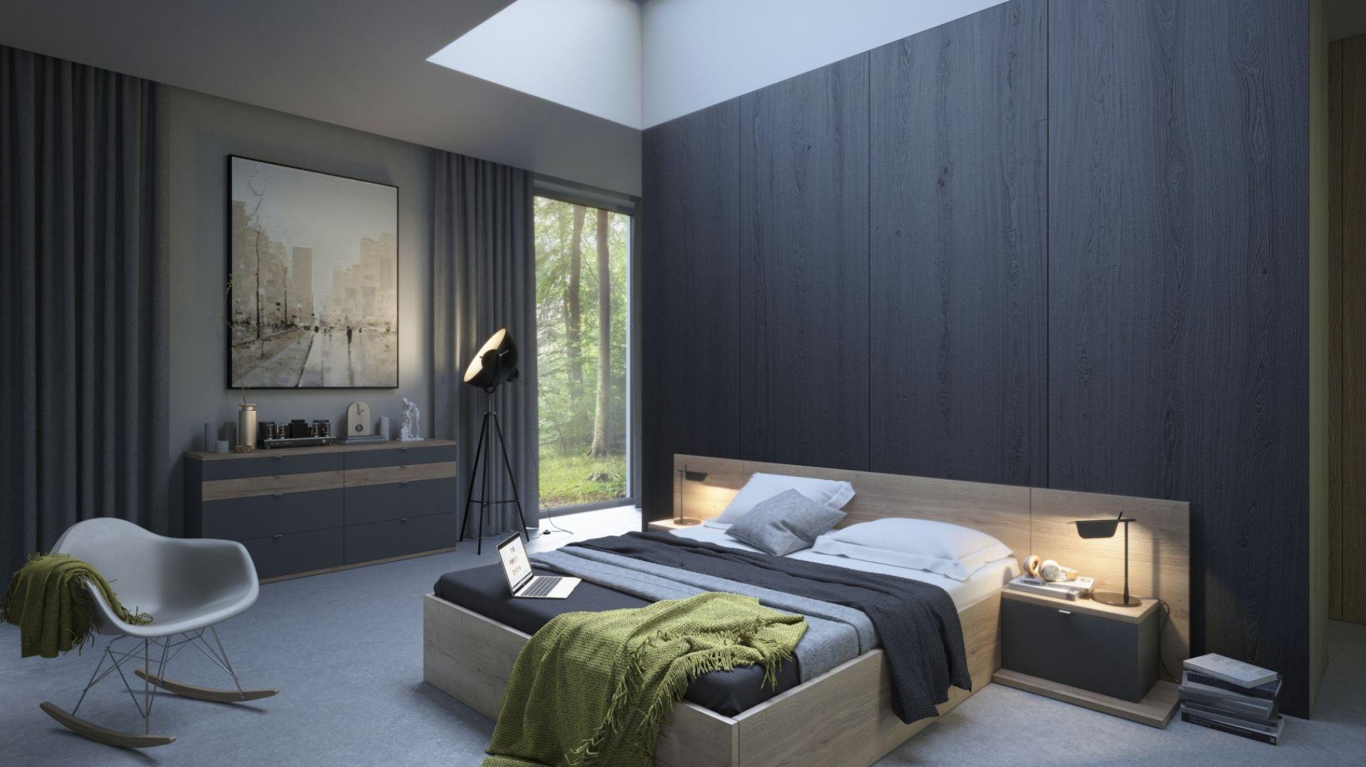 Zastosowanie w pomieszczeniu wielu odcieni danego koloru. Fot. Komandor