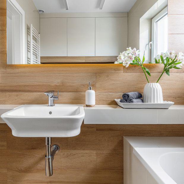 Przytulna łazienka - gotowy projekt wnętrza