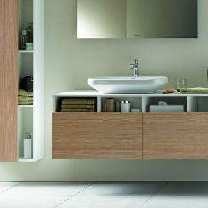 DuraStyle zaprojektowana przez Matteo Thun & Partners seria łazienkowa wywiera w świadomy sposób wrażenie prostoty. Fot. Duravit