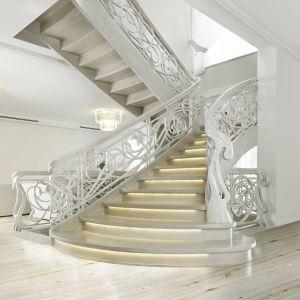 Schody w domu. Fot. Marchewka Schody - Podłogi - Wnętrza