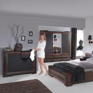 Sypialniana komoda ma szczególny charakter. Fot. Mebin