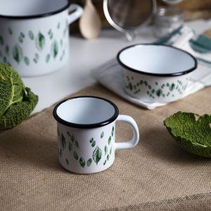 Zdrowe gotowanie - kolekcja naczyń emaliowanych Leaf. Fot. Florina