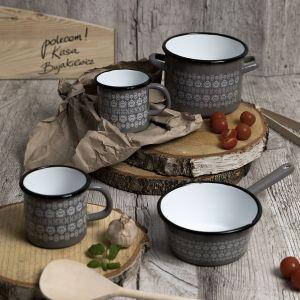Zdrowe gotowanie - kolekcja naczyń emaliowanych Scandi. Fot. Florina