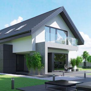 Nowoczesne osiedla domków jednorodzinnych to atrakcyjna alternatywa dla życia w mieście. Na zdjęciu dom HomeKONCEPT 51. Projekt i zdjęcia: Zespół Projektowy HomeKONCEPT