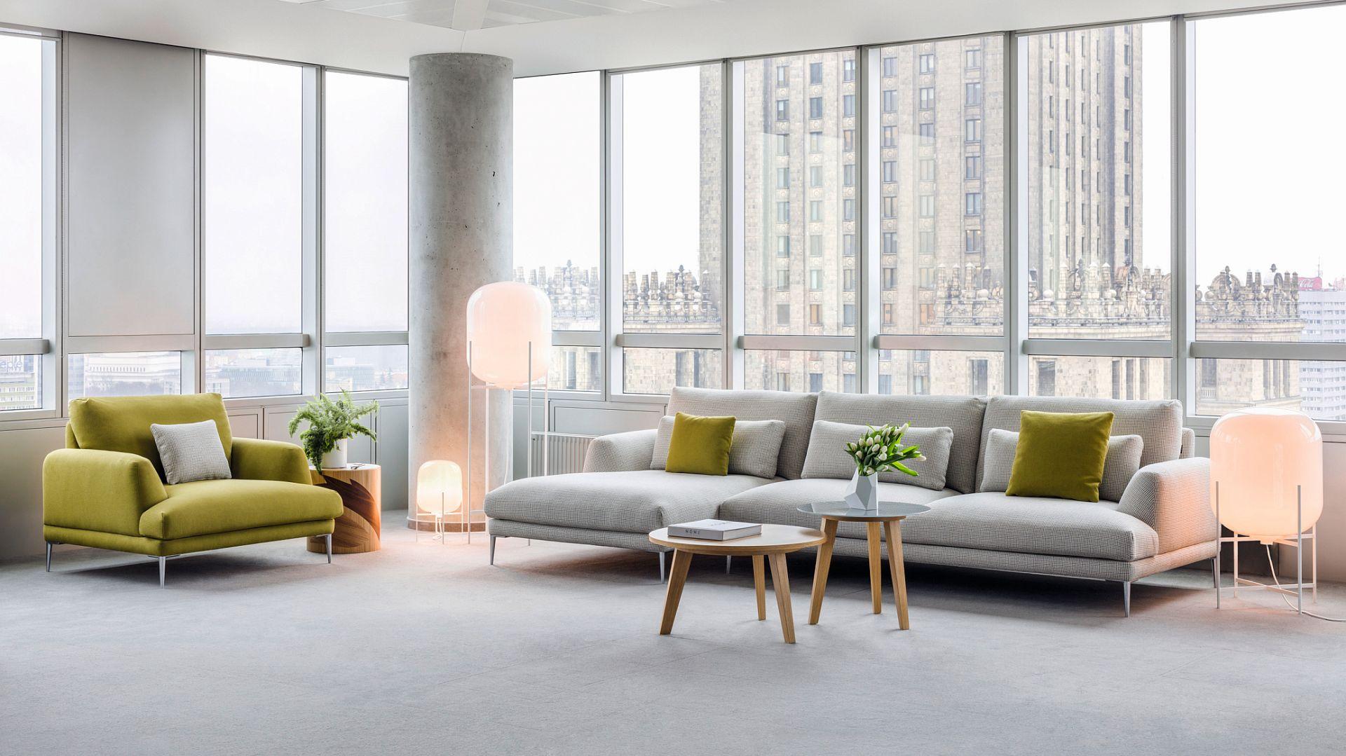 Sofa Classic firmy Comforty. Projekt: Krystian Kowalski. Fot. Ernest Winczyk/Comforty