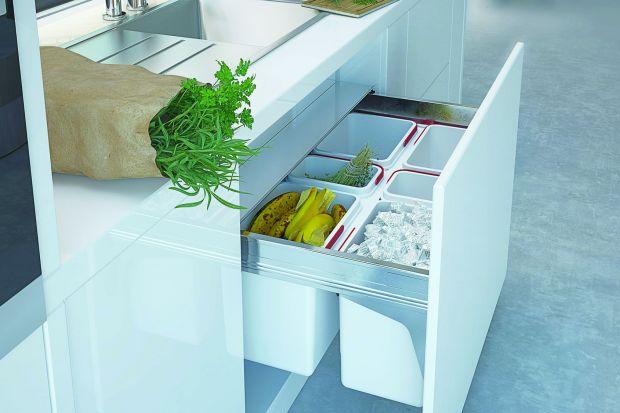 Segregacja śmieci - praktyczne pojemniki do kuchni