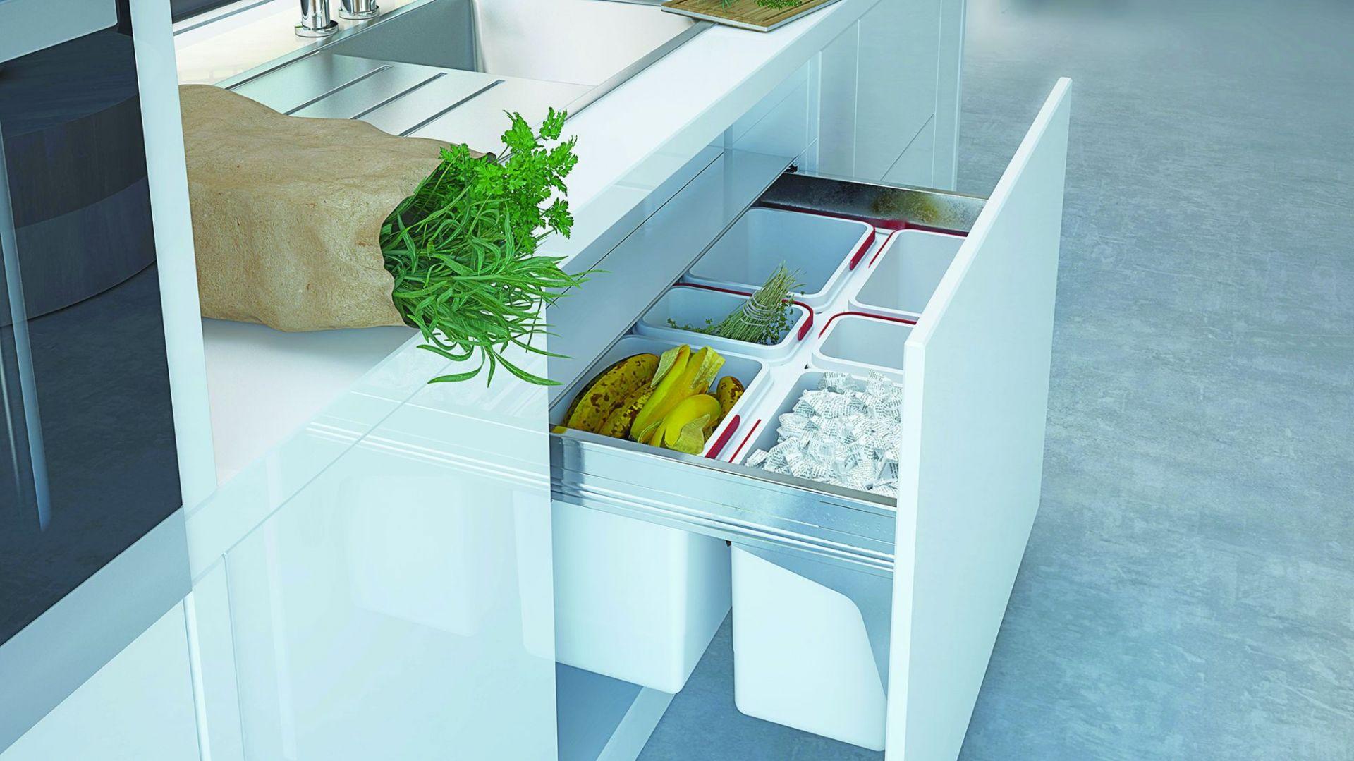 Segregacja śmieci Praktyczne Pojemniki Do Kuchni