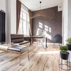 Apartament biznesmena łączy funkcje biura i mieszkania na weekend. Projekt: Kasia Orwat (Orwat Home Design). Fot. Weronika Trojanowska Photografer