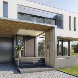 Drzwi wejściowe to wizytówka domu. Fot. Inoutic