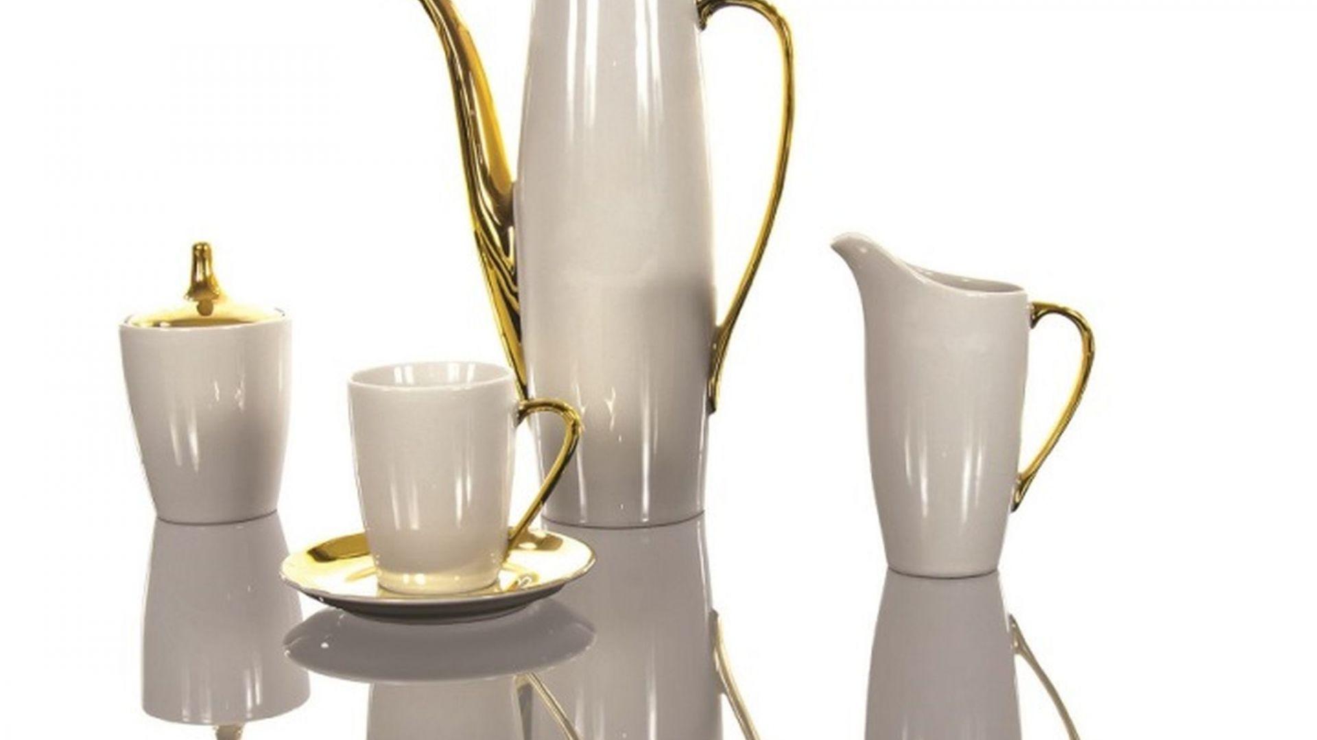 Niezwykła porcelanowa kolekcja Goplana z Ćmielowa uwodzi smukłymi kształtami i znakomitą prostotą. Fot. Polskie Fabryki Porcelany