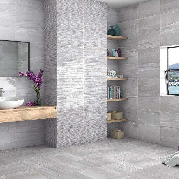 Jasne płytki do łazienki - trendy na 2018 rok