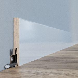 Wykończenie podłogi - jak wybrać listwy przypodłogowe: listwa Diamond. Fot. Arbiton