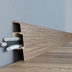 Wykończenie podłogi - jak wybrać listwy przypodłogowe: listwa Lars. Fot. Arbiton