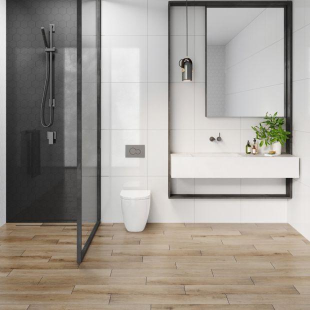 Strefa prysznica - piękne kolekcje płytek gresowych