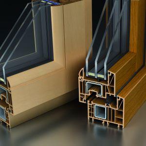 Nowoczesne okna z linii Wood Look+. Fot. Ms więcej niż Okna