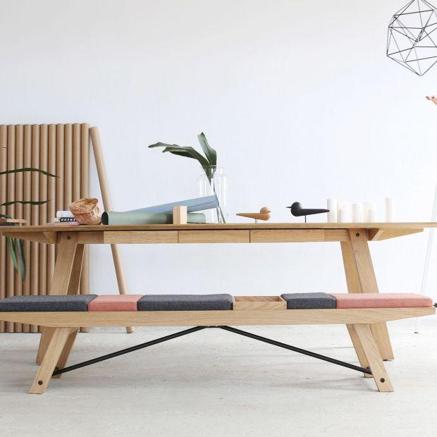 Praktyczna ławka - sprawdzi się w przedpokoju lub w biurze