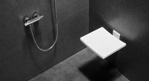 Siedzisko prysznicowe Active łączy w sobie nowoczesny i funkcjonalny design. Produkt zgłoszony do konkursu Dobry Design 2019.