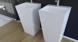 Umywalka Vera, dostępna w wersji wolnostojącej oraz nablatowej, to idealne rozwiązanie dla osób ceniących proste linie i elegancką formę. Produkt zgłoszony do konkursu Dobry Design 2019.