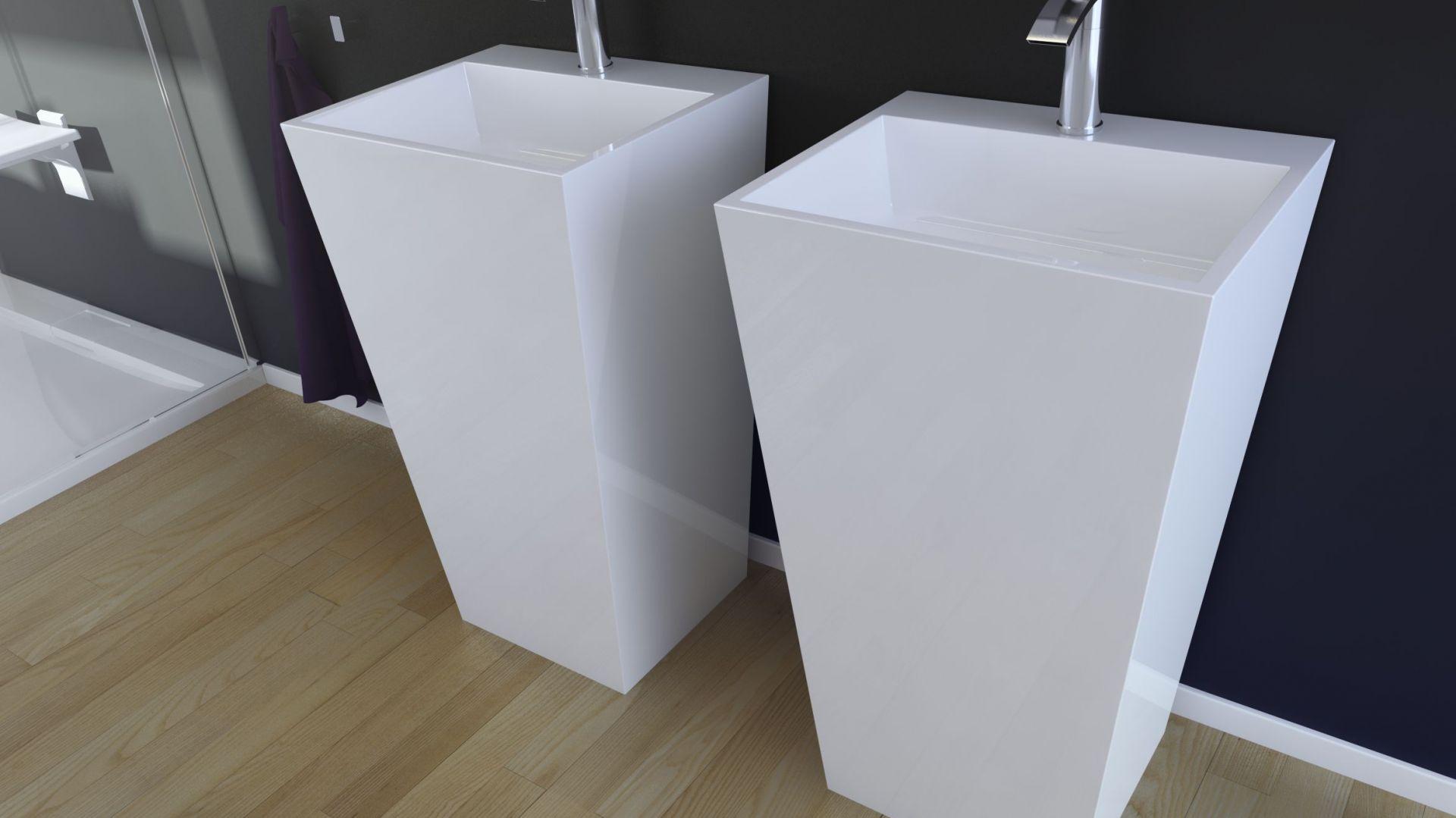 Umywalka Vera/Besco. Produkt zgłoszony do konkursu Dobry Design 2019