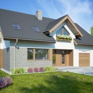 Budowa domu - sposoby na jej przyspieszenie. Dom Telimena II 1G. Projekt Tomasz Flak, Katarzyna Widurska. Fot. Dobre Domy
