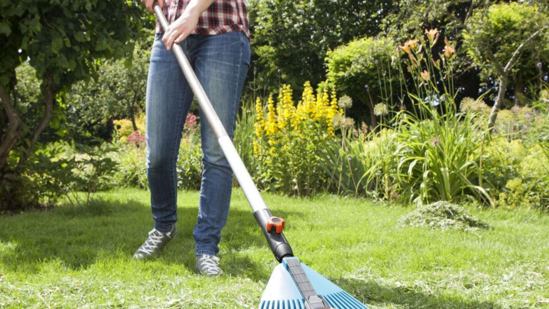 Pielęgnacja trawnika. Fot. Gardena