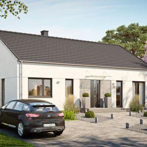 Dom 116,86 m2 parterowy. Fot. Multicomfort Saint-Gobain Brawo Domy Pasywne