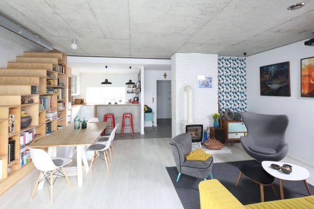 Salon z kuchnią i jadalnią. 25 pięknych zdjęć