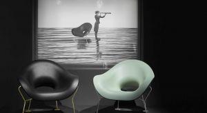 Nietypowy projekt autorstwa znanego włoskiego designera Andrea Branzi urzeka każdego. Zmysłowa elegancja, zaokrąglone linie fotela przywołują na myśl anatomiczne kształty. Fotel Pupa obsadzony jest na mosiężnej lekkiej podstawie, która wizualni