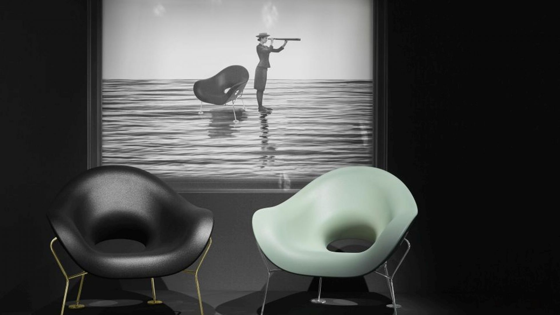 Fotel Pupa zaprojektowany przez Andrea Branzi/Qeeboo. Fot. BM Housing