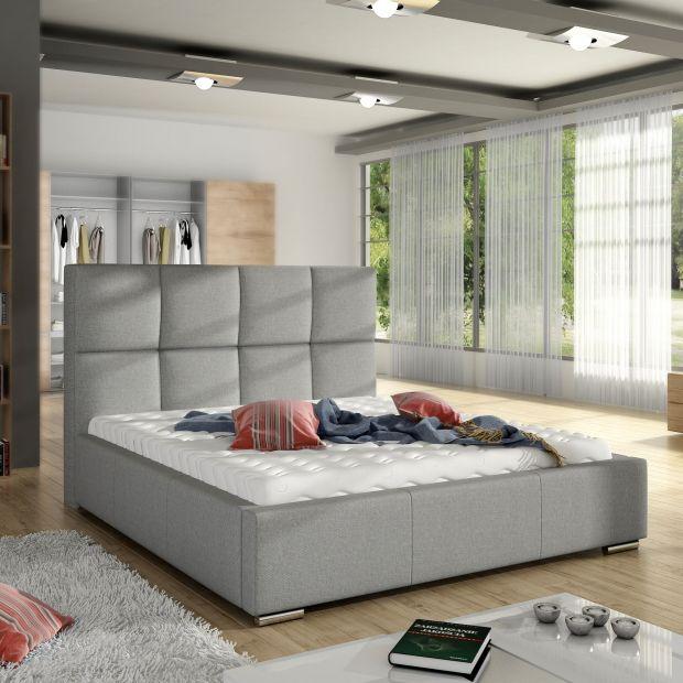 Modna sypialnia - zobacz piękne łóżko tapicerowane