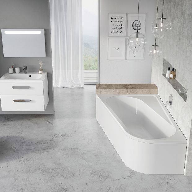 Wanna w łazience: 12 idealnych modeli