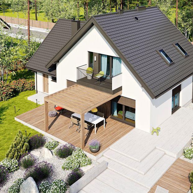 Dom z poddaszem – taki projekt będzie idealny dla czteroosobowej rodziny