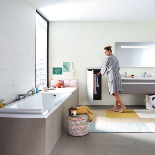 Nowoczesna łazienka: innowacyjny pomysł na ogrzewanie