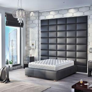 Aranżacja sypialni -łóżko Polibox. Fot. Comforteo