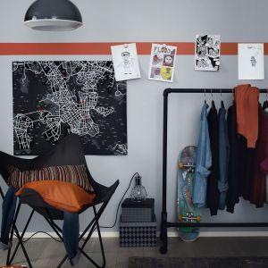 Pomysły na kreatywny pokój dla ucznia. Fot. Tikkurila