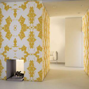 Aranżacja wnętrza - grafiki ścienne Glamora. Fot.  Dekorian Home