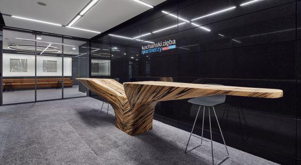 Siedziba firmy prawniczej - minimalistyczne i luksusowe wnętrza