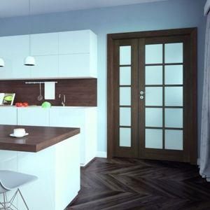 Drewno we wnętrzu - piękne modele drzwi. Fot. Porta