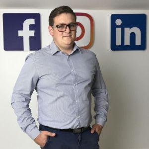 Mateusz Krawczyk, new business manager agencji 123SOCIAL, podczas Studia Dobrych Rozwiązań w Katowicach doradzi, jak z sukcesem działać w social mediach. Fot. M. Krawczyk