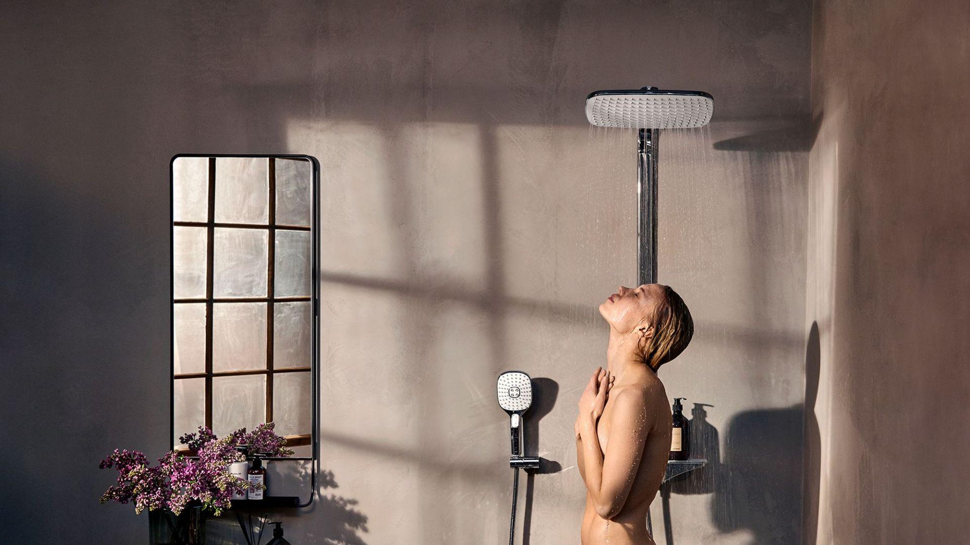 Armatura łazienkowa - nowy model baterii natryskowej. Fot. Oras