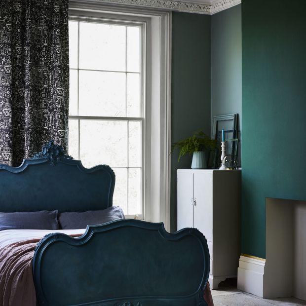 Kolor w sypialni - jesienna harmonia barw