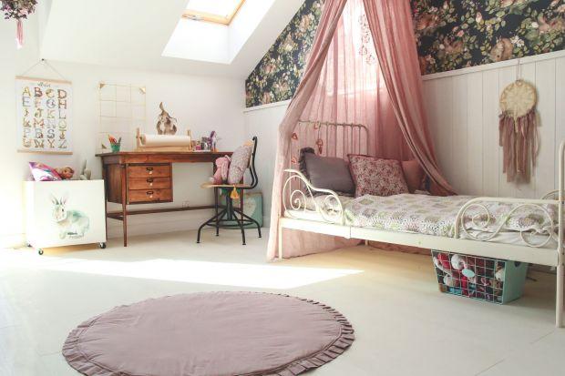 Uroczy pokój dziewczynki - zobacz wnętrze w stylu boho