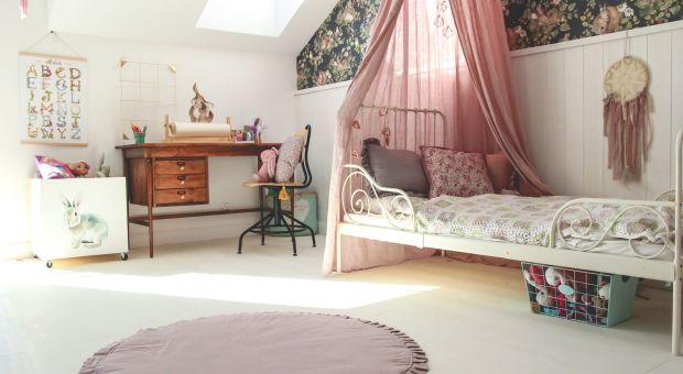 Niebanalny pokój dla dziewczynki w stylu boho
