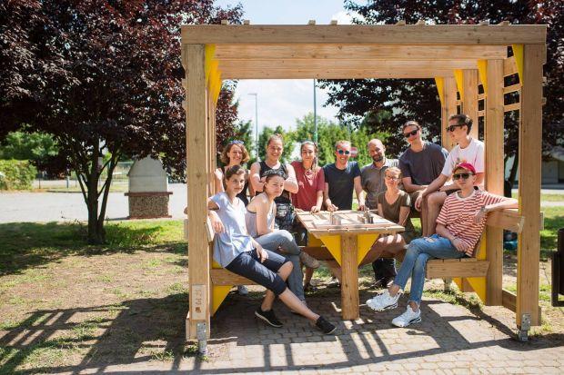 Mood for Wood - międzynarodowe warsztaty projektowe