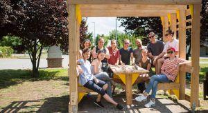 Już po raz czwarty poznański SARP wraz z Kolektywem 1a, w ramach warsztatów Mood for Wood, gościli w Poznaniu studentów kierunków projektowych z Polski, Czech, Węgier i Słowacji. Międzynarodowe warsztaty skierowane są do studentów zainteresowan